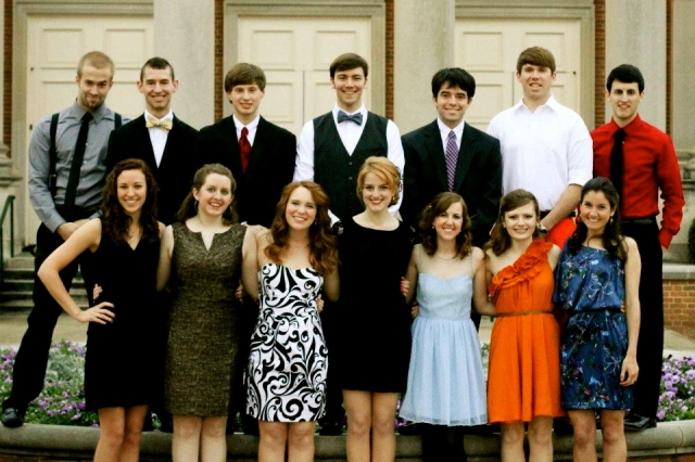 Our group for Beeson Ball. Photo courtesy of Rachel Freeny.